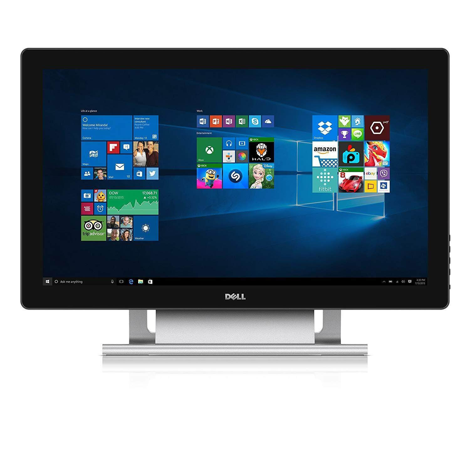DELL Multi Touch Screen LCD Monitor Full HD LED IPS Monitor 23 Inch P2314T (Display Units) Malaysia
