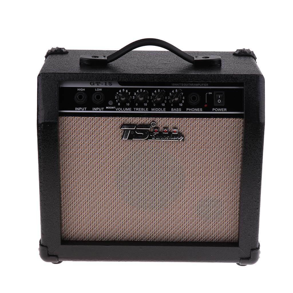 Baoblade 15 Watt Điện Guitar Amplifier Amp với 5 Loa 3-Ban Nhạc EQ