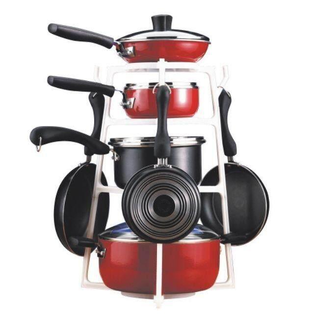 【 PANTREE ABS - FAST SHIPPING 】Multi-layer Pan Tree Pot Lids Cutting Board Stand Storage Rack Kitchen Utensil Cookware Organizer pantree