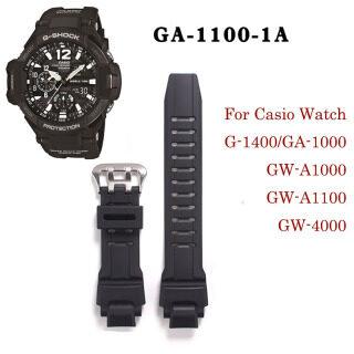 Dây Đeo Đồng Hồ Nam Bằng Nhựa Cho Cho Casio GA-1000 GA-1100 GW-4000 GW-A1100 Dây Đeo Cổ Tay, Dây Đeo Đồng Hồ Silicon Chống Nước Đồng Hồ Phụ Kiện Tái Trang Bị thumbnail