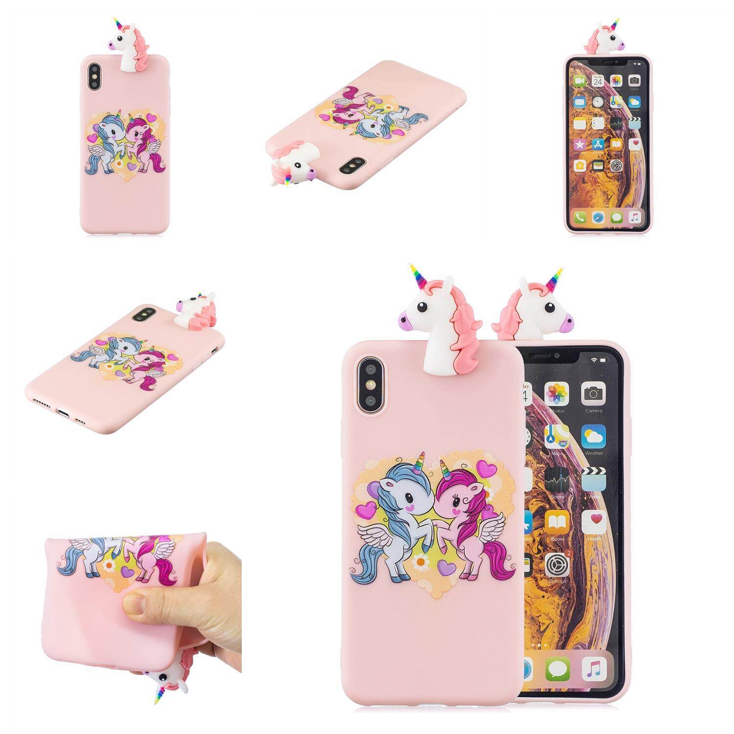 For OPPO A83/A1/F5 lite 3D Cute Coloured Painted Animal TPU Anti-scratch  Non-slip Protective Cover Back Case Style:OPPO A83/A1/F5 lite