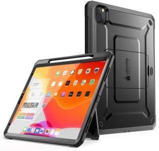SUPCASE UB Pro Vỏ Ốp iPad Pro 11 Inch 2020 Phát Hành Hỗ Trợ Bút Chì Apple Sạc Với Xây Dựng-Trong Miếng Bảo Vệ Màn Hình Đầy Đủ-Cơ Thể Rugged Chân Đế Bìa thumbnail