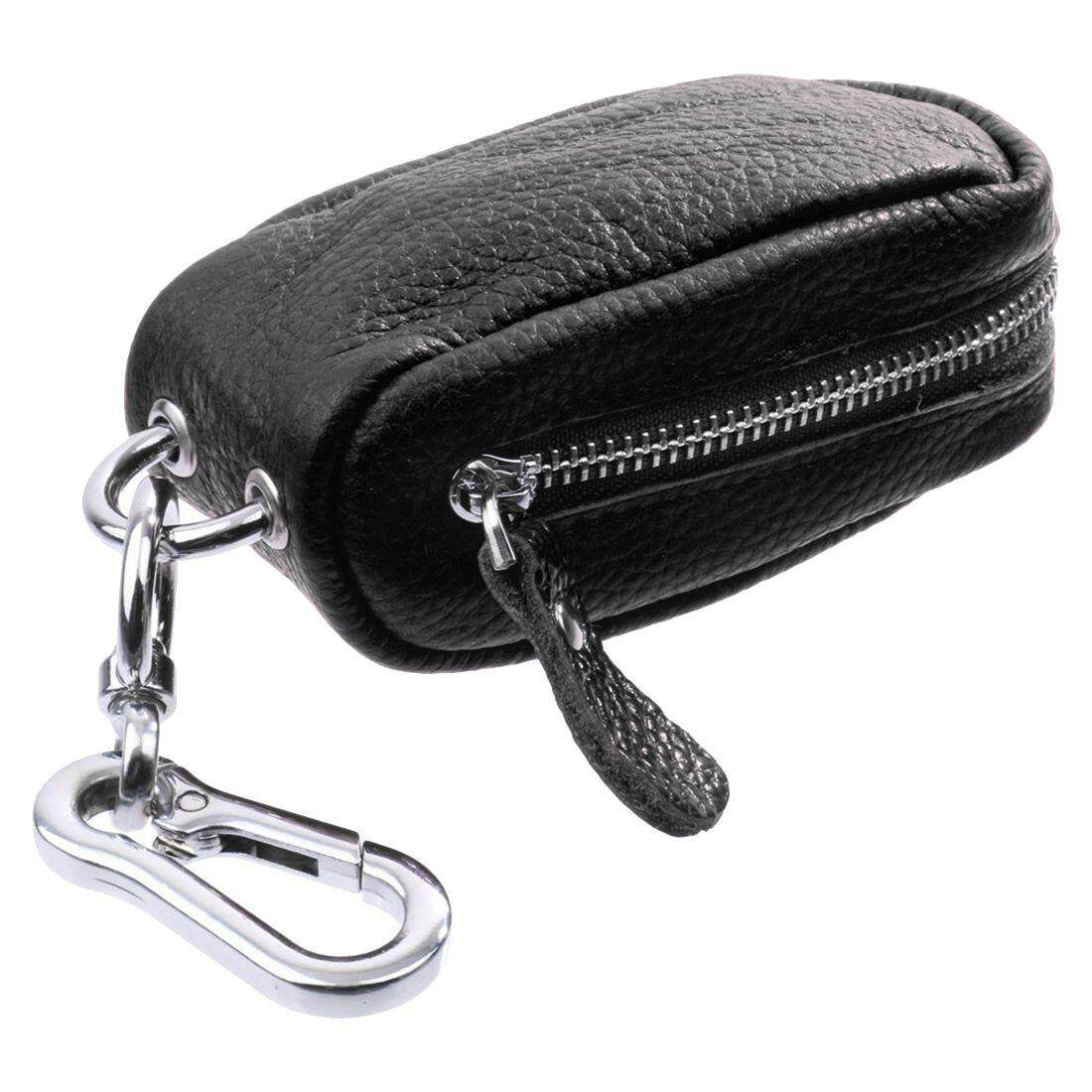 Car Key Bag Household key bag Unisex Zipper bag in PU Leather for Keychain Case for