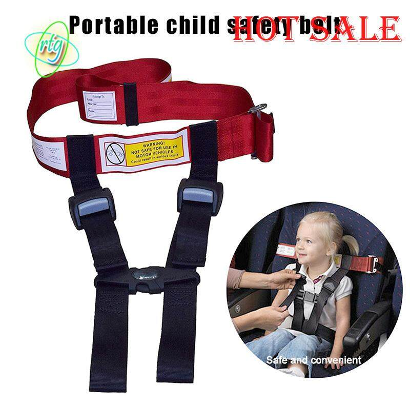 RTG Child Safety Airplane Travel Harness Safety Care Harness Restraint System Belt Tool