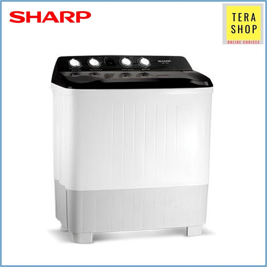 Sharp Semi-Auto EST1216 Washing Machine 12kg