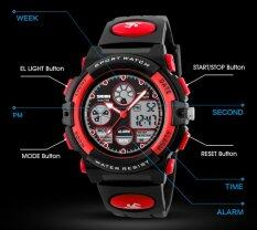 Brand Watch 1163 Kids Casual Waterproof Multifunction Quartz Digital Sports For Young Students Wristwatches Malaysia
