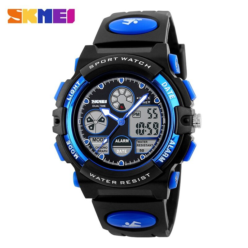 Brand Kids Watch Watch 1163 Kids Casual Waterproof Multifunction Quartz Digital Sports For Young Students Wristwatches Malaysia