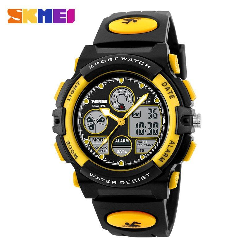 Brand Kids Watch Watch 1163 Kids Casual Waterproof Multifunction Quartz Digital Sports For Young Students Wristwatches Jam tangan kanak-kanak Malaysia