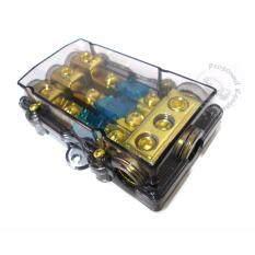 1 on 3 fuse box holder car audio system (60a)