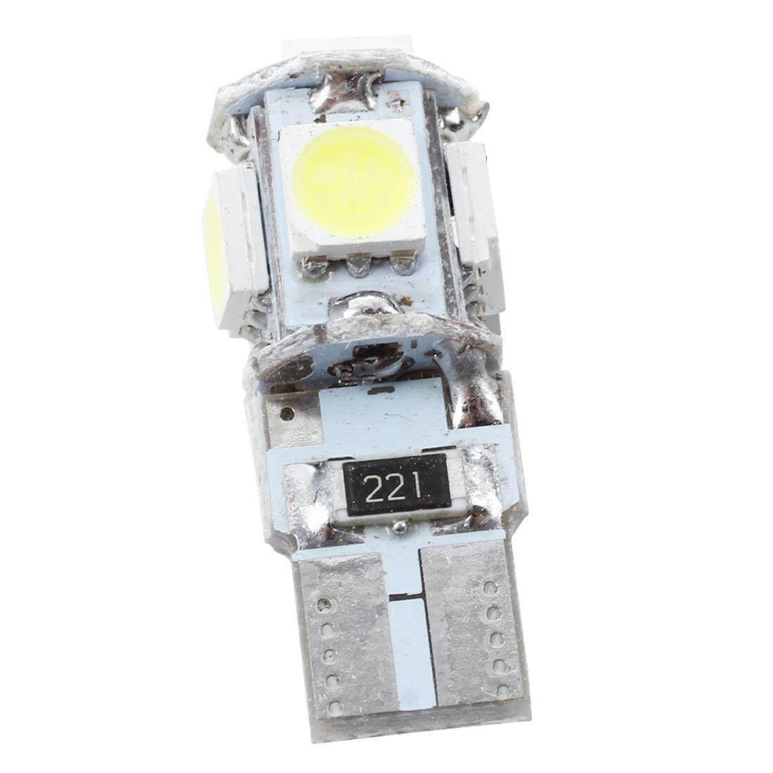 10 Pcs T10 5 Mobil LED Bulb 5050 SMD CANBUS Kesalahan Gratis Lampu LED Interior Putih-Intl-Intl