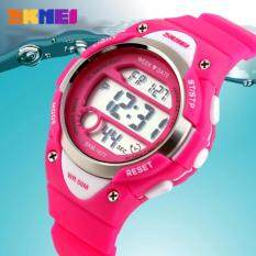 [100% Genuine] SKMEI Kids Watches Cute Sports Cartoon Watches Boys Girls Rubber Childrens Digital LED Watch Kids Hand Malaysia