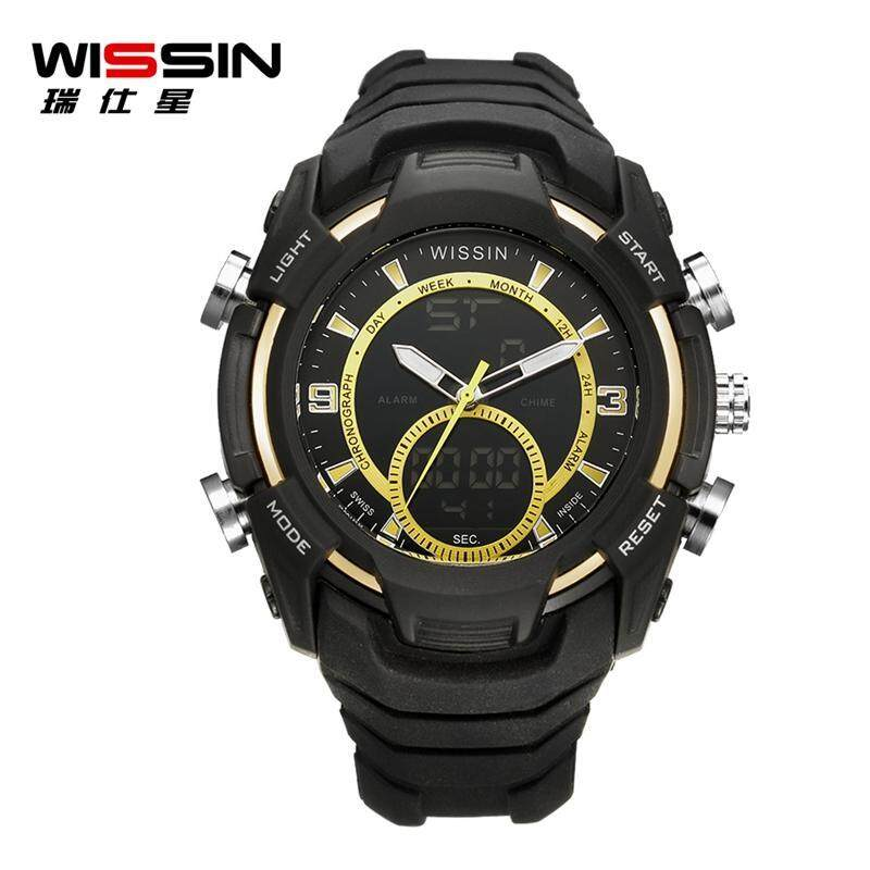 100% Original WISSIN Watch with Luminous Display 50m Waterproof And Dustproof Anti-freeze High Pressure Resistant Shockproof Calendar Clock Malaysia