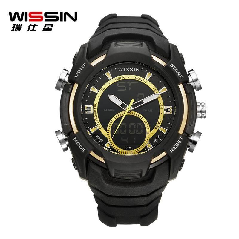 100% Original WISSIN Watch with Luminous Display 50m Waterproof And Dustproof Anti-freeze High Pressure Resistant Shockproof Calendar Clock Malaysia