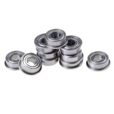 10pcs F686 F686zz Mini Metal Double Shielded Flanged Ball Bearings 6*13*5mm By Flying Cloud.