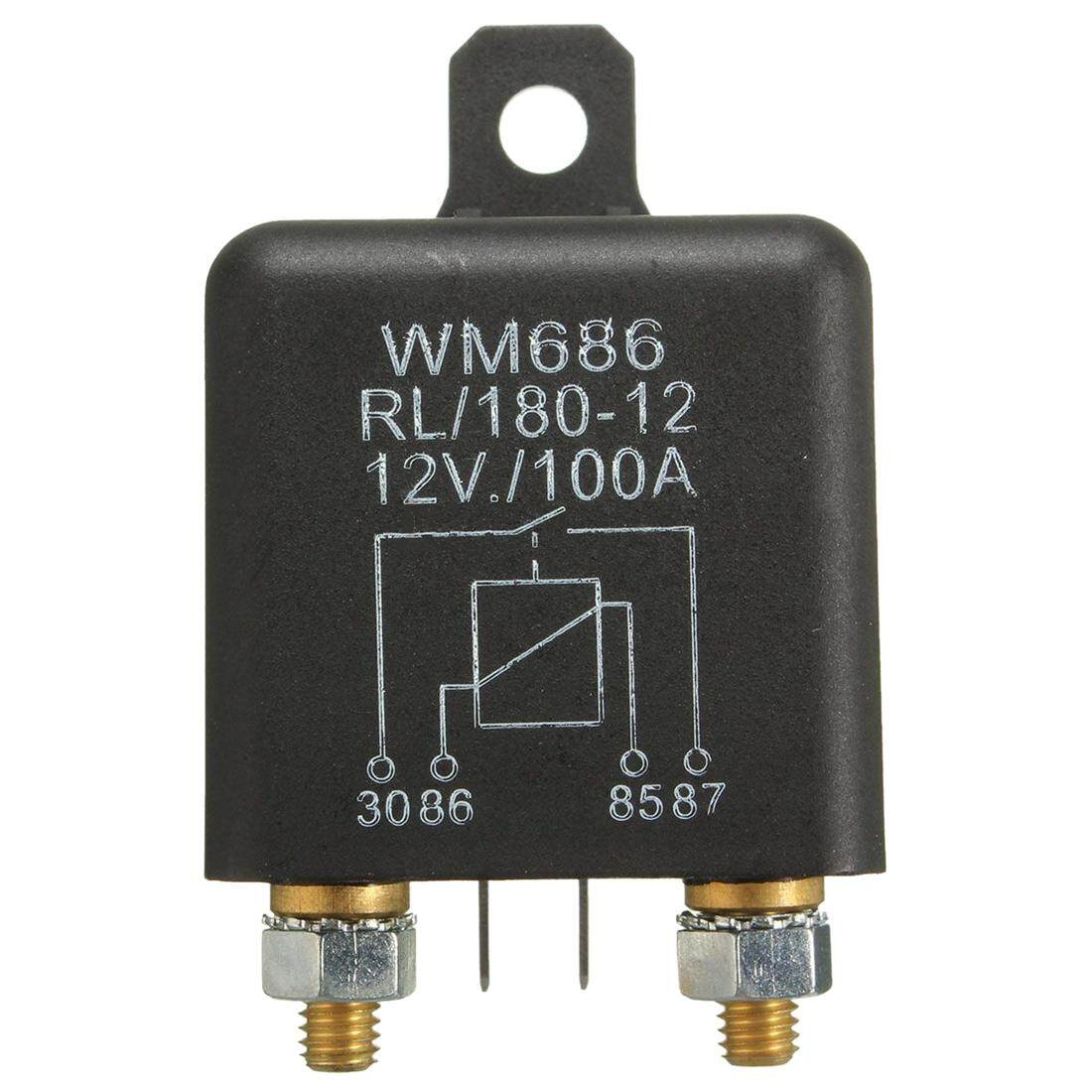 Car Relays For Sale Automotive Online Brands Prices Micro Relay 12v Spdt 20 Amp 100amp 4 Pin Heavy Duty On Off Switch Split Charge Auto
