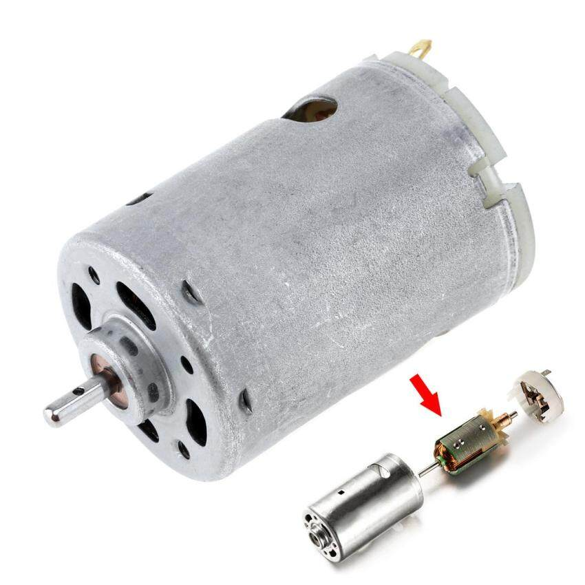 12V 1.4A 23000 RPM 545 DC Motor with 3mm Shaft Diameter & High Torque Gear Box for Remote-controlled Car