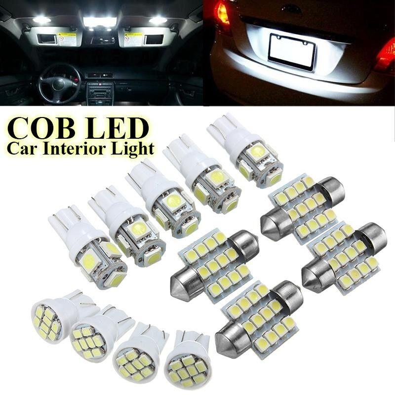 13Pcs T10 LED Lamp Car Interior Light Bulbs Festoon 31mm Reading Light License Plate Light