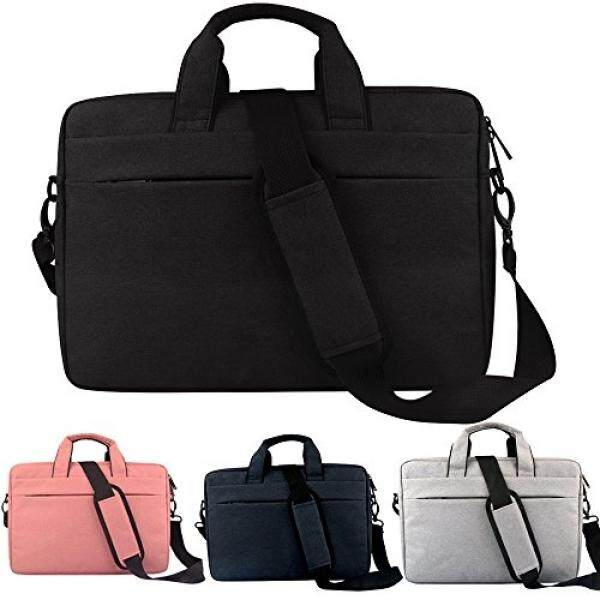 14-15.4 Inch Laptop Tas Bahu, tahan Air Multi Kain Multifungsi Sarung Laptop Case
