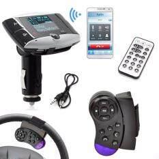 1.5''lcd Car Kit Mp3 Player Bluetooth Fm Transmitter Modulator Sd Mmc Usb Remote By Mintonstore.