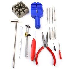 16 in 1 Watch Clock Opener Tool Repair Kit Pin Remover Malaysia