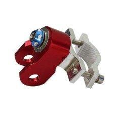 17-37 Mm Disc Pompa Rak Adaptor Universal Motor Scooter Jangka Lengkung-Merah