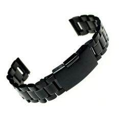 18mm Stainless Steel Bracelet Watch Band Strap Straight End Solid Links Malaysia