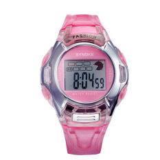 1PC Kids Sports Digital LED Watches Wrist Watch Alarm Date Rubber Wrist Pink Malaysia