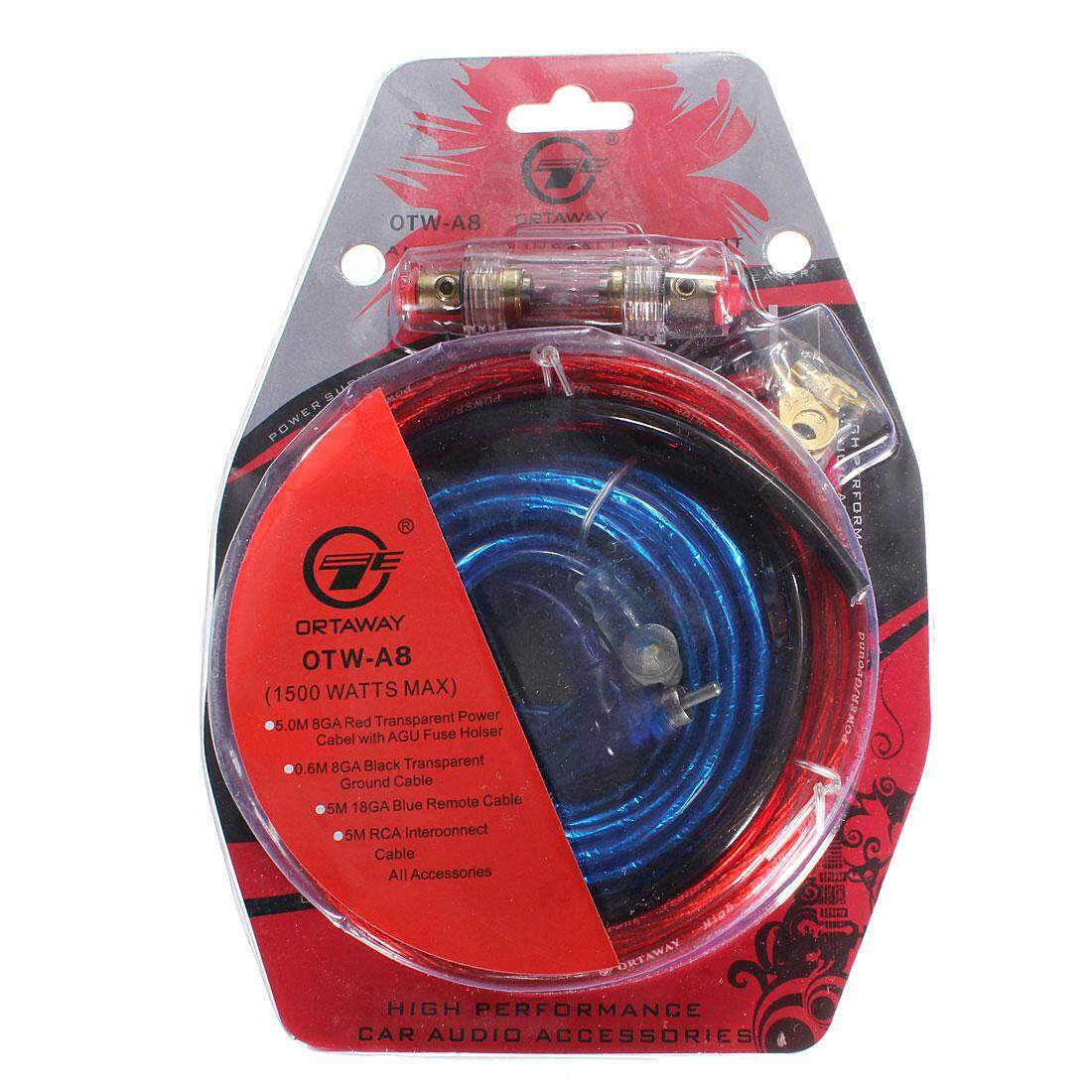 Buy Sell Cheapest 1500w 10 In Best Quality Product Deals Wiring Kits For Car Amps 2 Pcs Complete Gauge Amp Amplifier Cable Speaker Sub Subwoofer Kit