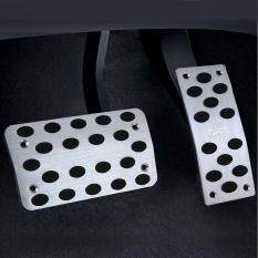 2 Pcs Universal Stainless Steel Car Safety Automatic Gas Brake Pedals Pads By Wtyd.