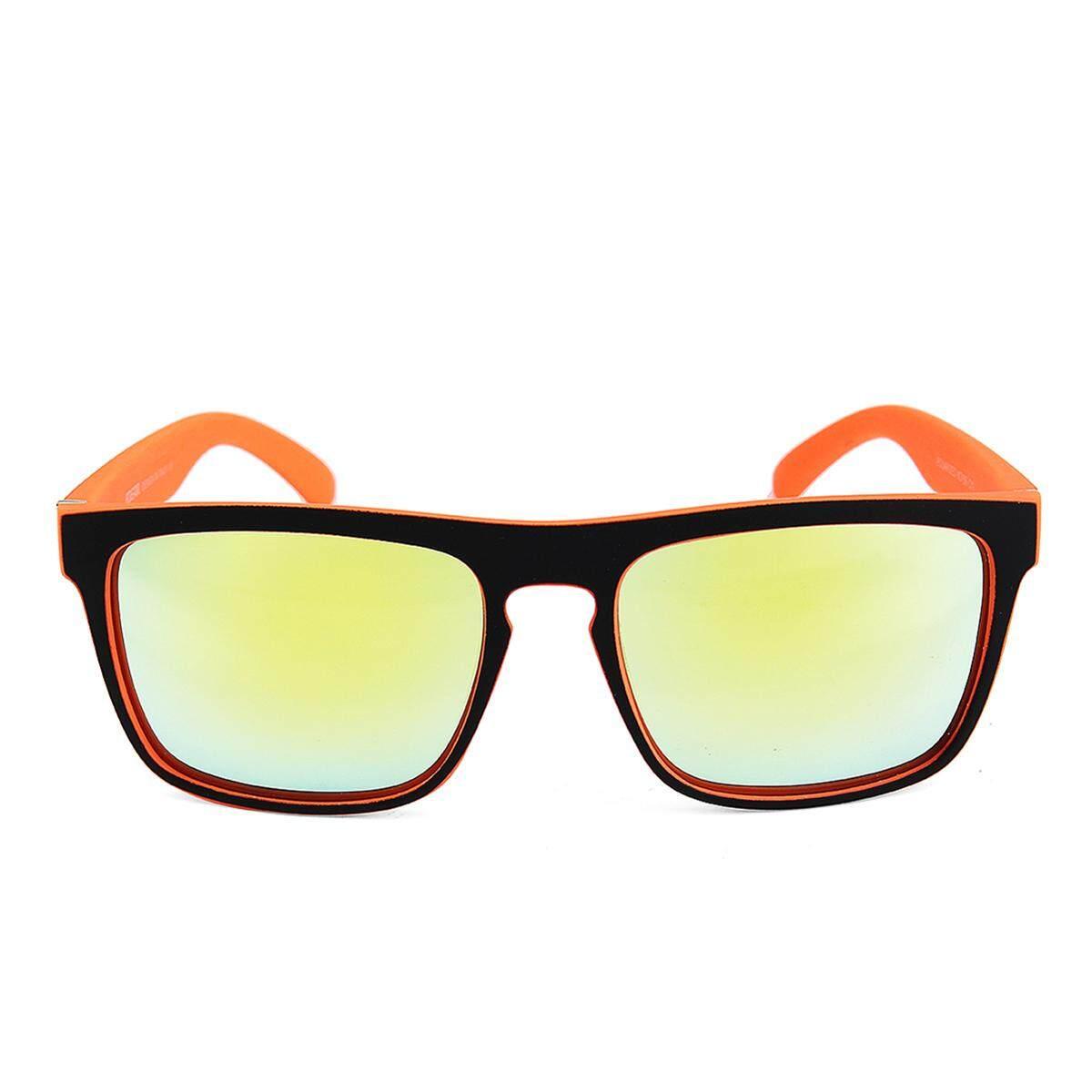 2 X Kdeam Kacamata Terpolarisasi Kacamata Hitam Retro Persegi Luar Ruangan Olahraga Bersepeda Helm Matahari Kacamata C11-Internasional