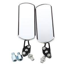2 X Rear View Mirror Mirror View Universal Aluminum 10mm / 8mm For Honda By Sunnny2015.