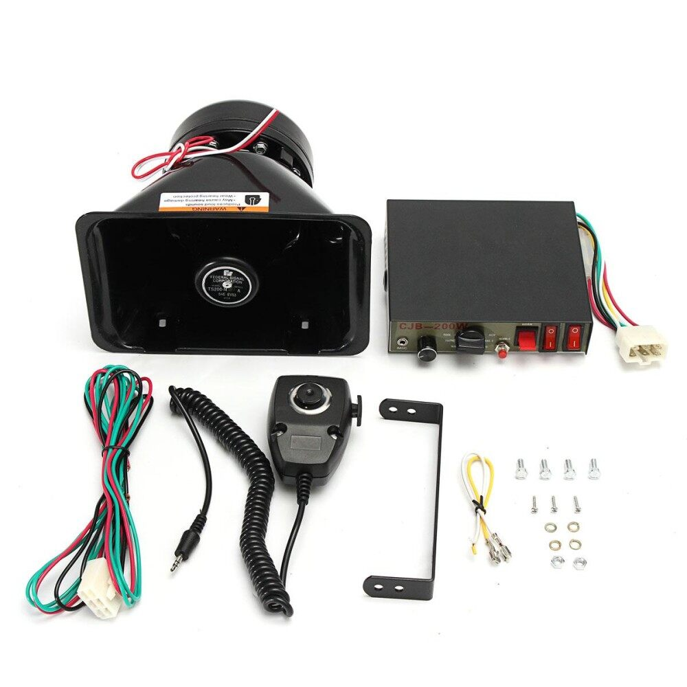 Buy Sell Cheapest Modul Sirine 9 Best Quality Product Deals Toa Alarm 6 Suara 200 W Keras Mobil Peringatan Klakson Polisi Speaker Pa Mic System