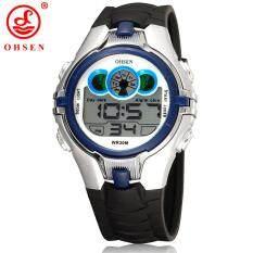2015 Top Selling Ohsen Brand Sport Watch Jam Tangan Boys Children's Digital Display Silicone Band Fashion
