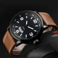 2016 Best Quality TTLIFE Luxury Brand Mens Business Genuine Leather Band Quartz Watch(brown) Malaysia