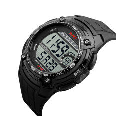 2016 High Quality SKMEI 1203 Fashion Sports Mens Waterproof Watch(black) Malaysia