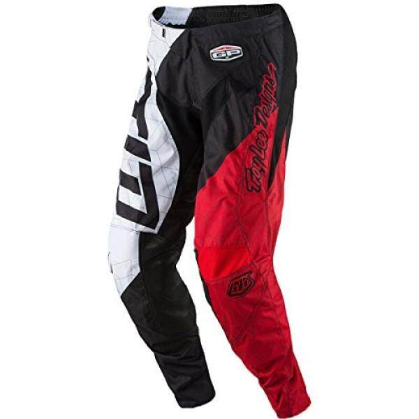 2017 Troy Lee Designs GP Quest Pants-Black/White-36 - intl
