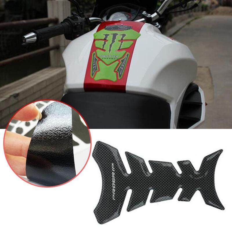 Carbon Fiber Fuel Gas Tank Sticker Pad for Honda CBR250R F4 F4i CBR .