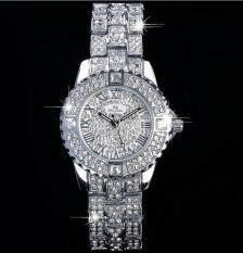 2017 Women Rhinestone Watches Lady Dress Women watch Diamond Luxury brand  Bracelet Wristwatch ladies Crystal Quartz 7c9f457b9965