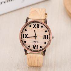 2018 Newest brand analog quartz men women wood watch slim designer wood watch orologio worldwide Light Brown Malaysia