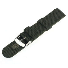 Free Shipping 20mm Nylon Wrist Watch Band Strap For Watch Stainless Steel Buckle Malaysia