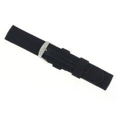 20mm Nylon Wrist Watch Band Strap For Watch Stainless Steel Buckle Black Malaysia