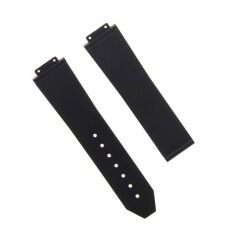 25MM rubber silicone watch starp band for hublot H big bang Black
