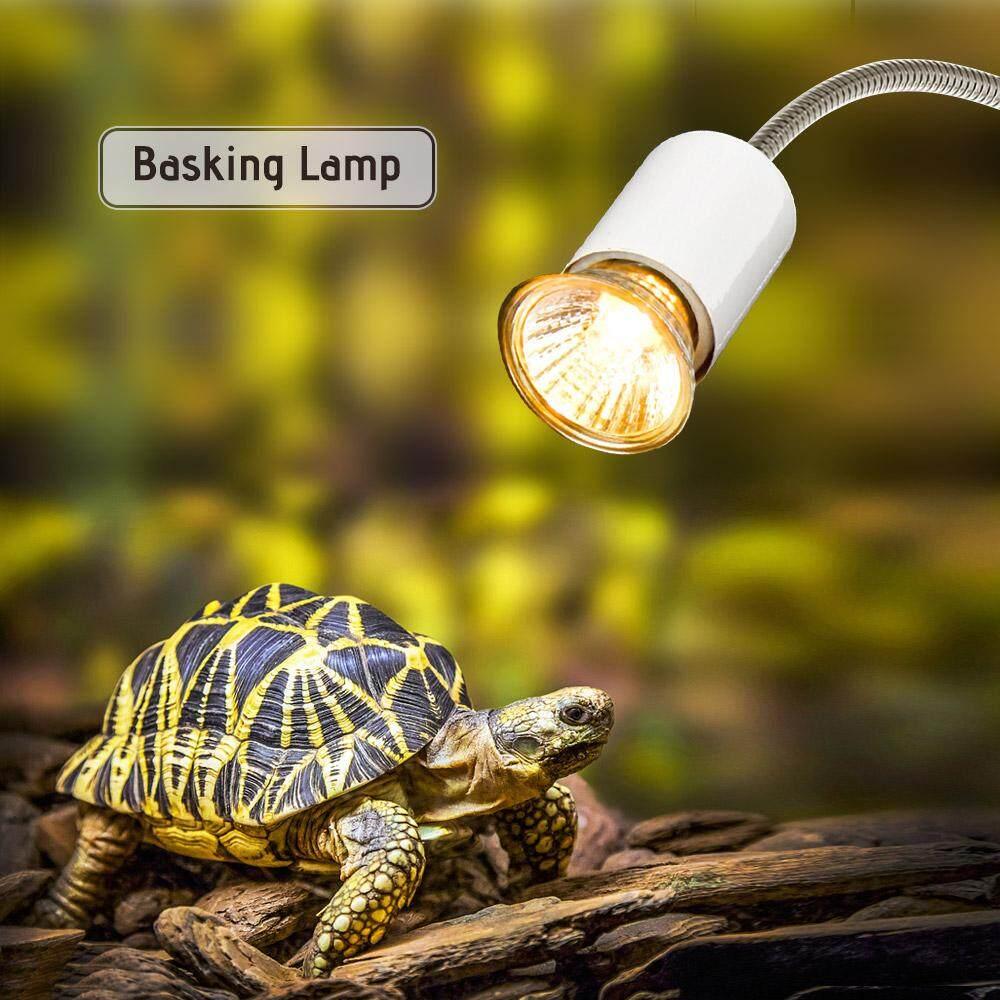 25 W Halogen Lampu Panas UVA UVB Berjemur Pemanas Lampu Ringan Bohlam untuk Reptil Kadal Penyu Akuarium-Internasional