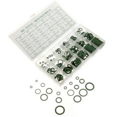 270 Pcs 18 Sizes Assortment Kit Air Conditioning HNBR O Rings Set Car GREEN (Intl