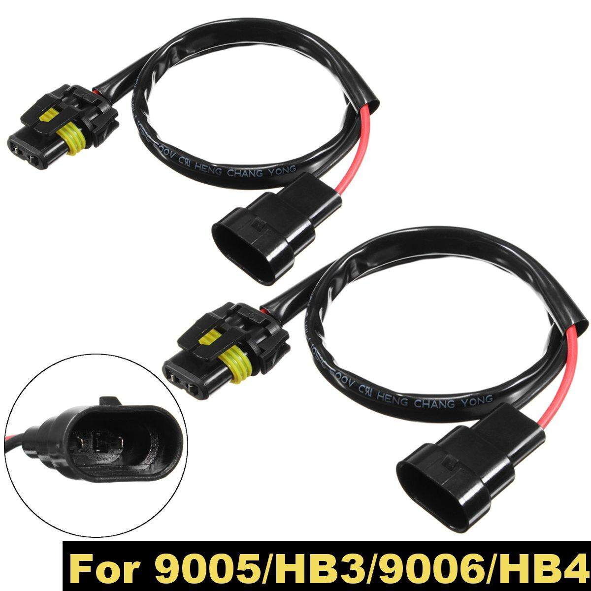 Automotive Wiring For Sale Harness Online Brands Wire Diagram Zongshen 200 2pcs 9005 Hb3 9006 Hb4 Car Headlight Xenon Power Cable Connector Extended Head Lamp