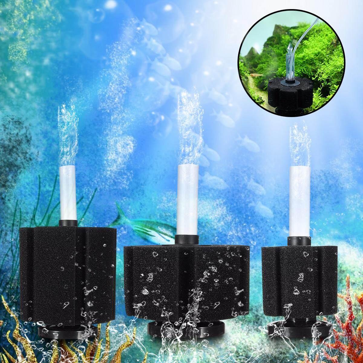 3 Pcs Akuarium Spons Penyaring Katun Tangki Ikan Biokimia Filtrasi Busa Pompa Udara-Internasional