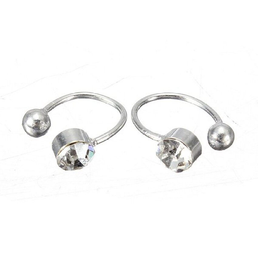 bluelans adapula titanium baja batu cincin pernikahan