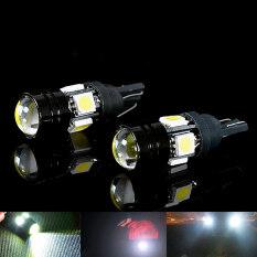 [newshopa1@163.com]High Quality 2pcs T10 Car LED Auto Lamp 5W-12V Light Bulbs With Bifocal Lens White Light
