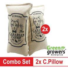 2x Catnip Pillow Strong Canadian & Durable Fabric By Green Growers Ent.
