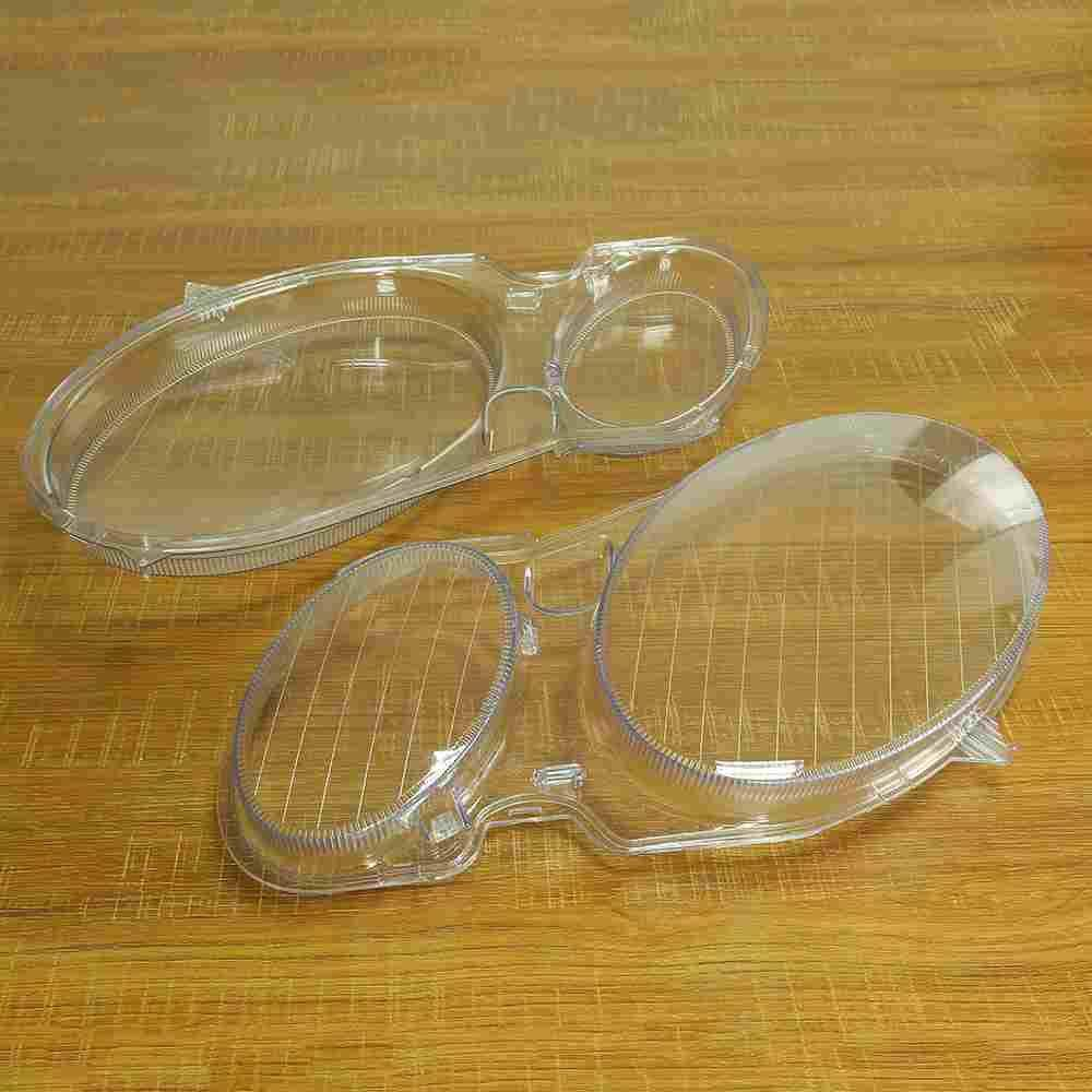 Cheap 2X For Benz W211 E350 E300 02 08 Headlight Lens Replacement Cover Left Right Intl Online